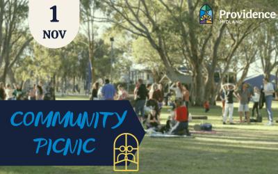 Community Picnic 1st Nov