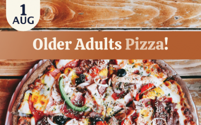 Older Adults Pizza Lunch
