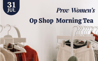 Prov Women's Op Shop Morning Tea